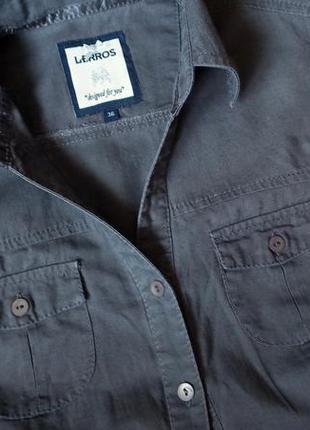 Льняная рубашка/блузка с коротким рукавом lerros, р.36(eur)