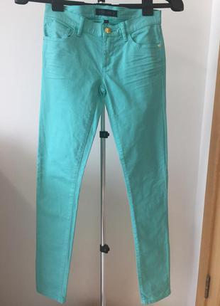 Крутые джинсы скинни (зауженные) низкая посадка (размер xs) juicy couture