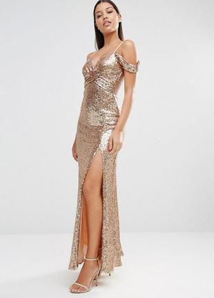 Новое шикарное вечернее платье