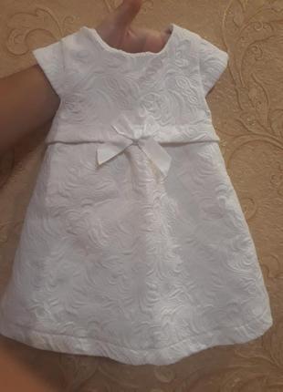 Платье 3 мес на крещение или так просто