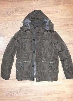 Мужская зимняя курточка размер l