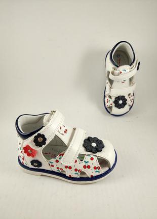 Ортопедические босоножки для девочек tom.m 1915d сандали сланцы шлепанцы туфли обувь