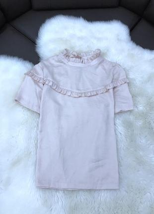 Блузка с оборкой  от h&m