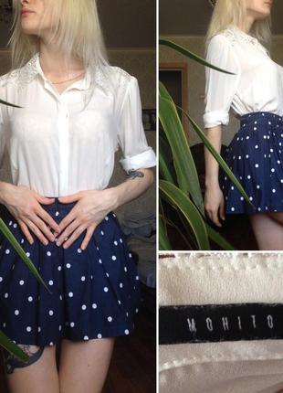 Белая блуза mohito