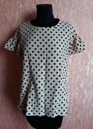 Блуза в горох