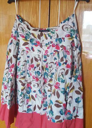Хлопковая юбка dorothy perkins