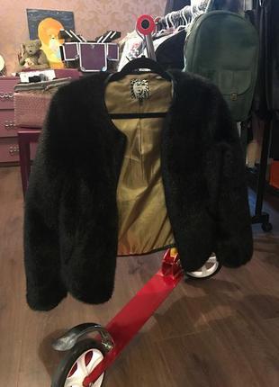 "Меховая куртка-бомбер ""next"""