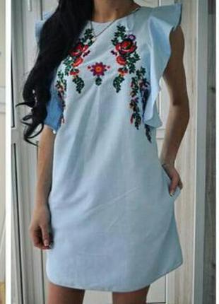 Нереально красивое платье zara