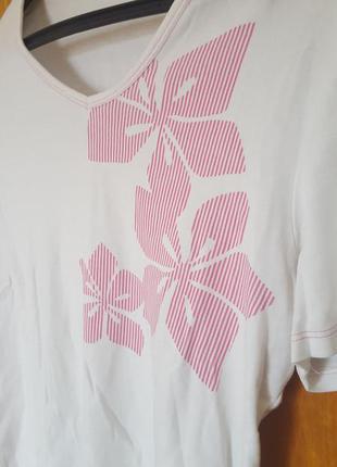 Белая футболка marks&spencer