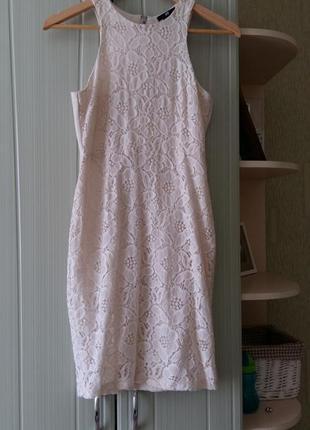 Платье кружевное н&м