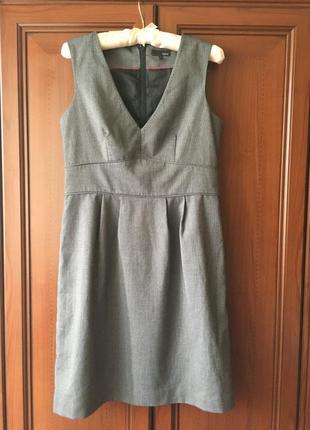 Офис, деловое платье сарафан, офисный наряд