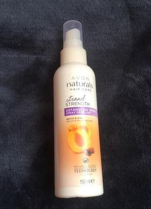 Бальзам спрей для волос абсолютная сила абрикос и масло ши