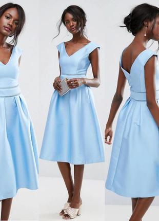 Приталенное платье миди  от oasis