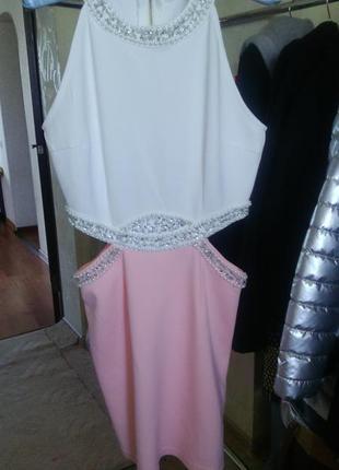 Шикарное,новое платье boohoo