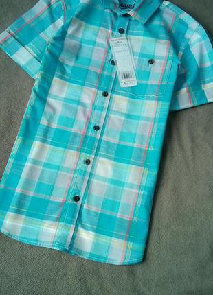 Яскрава рубашка f&f 9-10 років