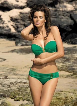 Salma marko зеленый раздельный купальник