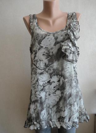 Платье - туника, блуза george с воланом
