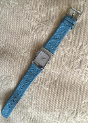Часы tcm кожаный ремешок