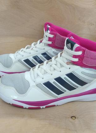 Легкие высокие кроссовки adidas dance mid ( 37 размер )