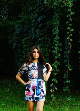 Короткое, вечернее платье zara