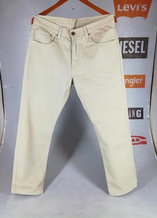 Мужские джинсы levis 581w32l30