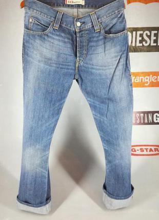 Мужские джинсы levis 512 w32l34