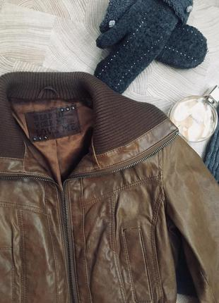 Куртка кожанка от new look