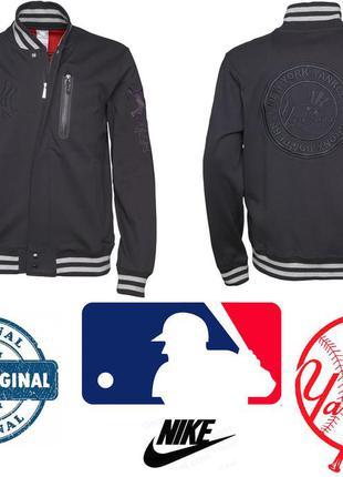 Nike new york yankees usa р.m оригинал бомбер клубная куртка бейсбол