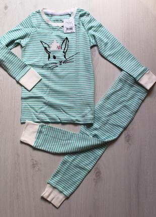 Пижама в полоску next на 2-3 года (92-98см)
