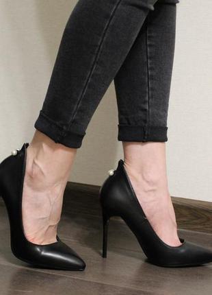 Очень красивые и элегантные женские туфли лодочки из эко-кожи