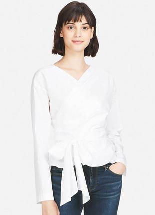 Uniqlo блуза с и м