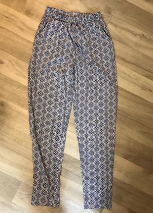 Шифоновые летние брюки new look идеал