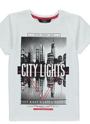 Новая футболка city lights, george, 6013149