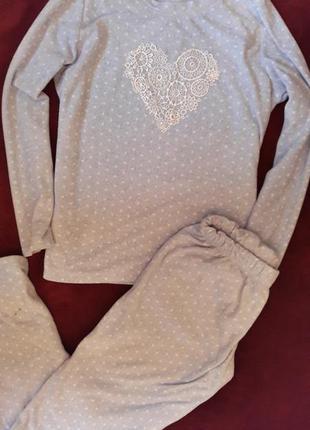 !!!распродажа!!!пижама  мягусенькая м