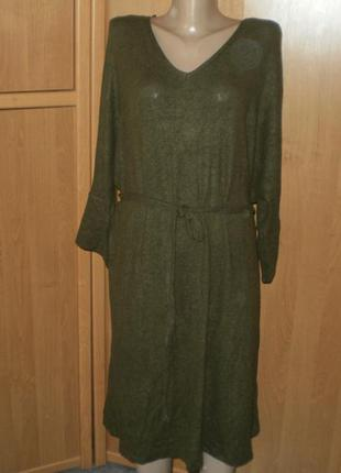 Тепленькое платье от yessica р. хl  one size