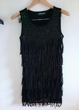 Короткое платье junker club p. m/l