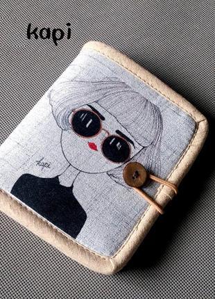 fd2cca76c50aa Текстильный кошелек капи Ручная Работа, цена - 235 грн, #12039496 ...