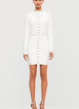 Крутое бандажное платье от missguided