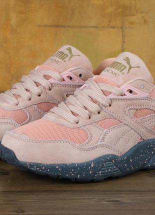 Яркие розовые кроссовки 37 38 39 рр