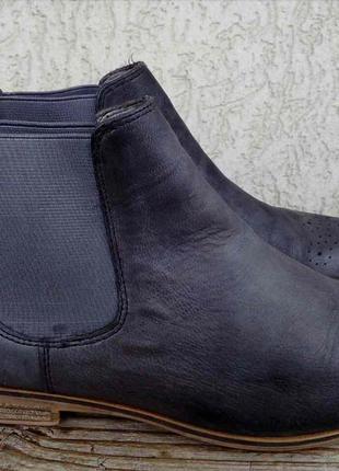 Ботинки челси pier one кожа 39р