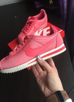 Nike cortez nylon sea coral