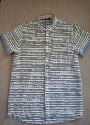 Крутая рубашка для парня 150-160