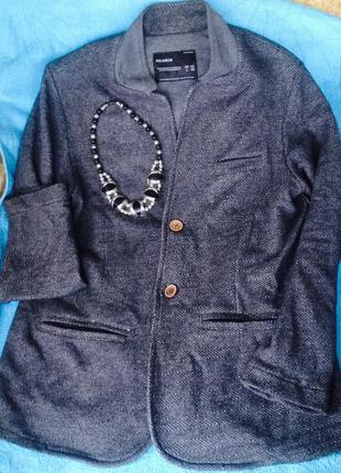 Отличный удлиненный пиджак на весну(осень)