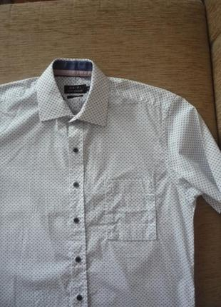Стильная рубашка хлопок короткий рукав 168-175