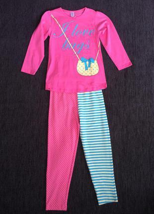 Крутая пижама на девочку! 110\116 польша