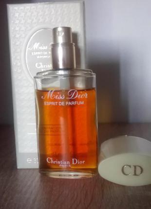 Christian dior miss dior vintage вінтажні парфуми