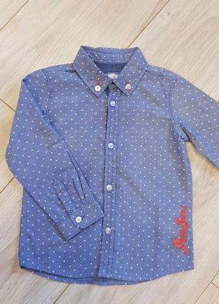 Детская рубашка guess. новая