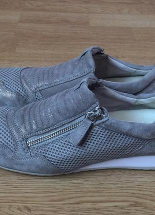 Замшевые кроссовки gabor германия 39 размера в отличном состоянии