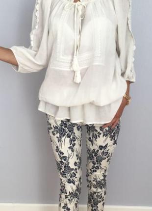 Блуза туника h&m