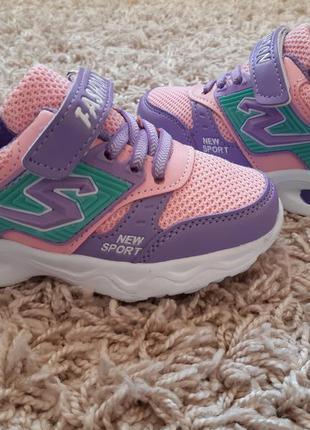 Красивенные кроссовки для девочек 28,30